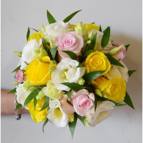 Bouquet rond Calcite