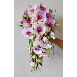 Bouquet de Mariée avec retombée  Amétrine
